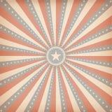 Amerikaanse retro achtergrond Royalty-vrije Stock Afbeeldingen