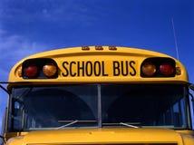 Amerikaanse schoolbus Stock Foto's