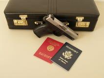 Amerikaanse spion royalty-vrije stock fotografie