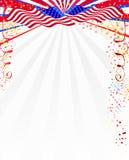Amerikaanse stijlachtergrond Royalty-vrije Stock Foto's