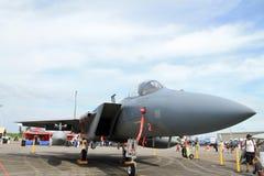 Amerikaanse supersonische militaire straal Stock Afbeeldingen