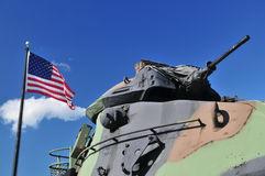 Amerikaanse tank Royalty-vrije Stock Afbeeldingen