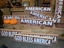 Amerikaanse Tekens Royalty-vrije Stock Afbeelding