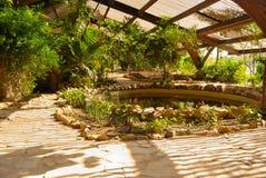 Amerikaanse tuin Sevilla Royalty-vrije Stock Afbeelding