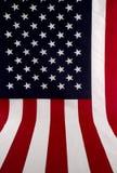 Amerikaanse uit Uitgespreide Vlag royalty-vrije stock afbeelding
