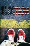 Amerikaanse verkiezingen royalty-vrije stock foto's