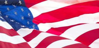 Amerikaanse vlag 018 Stock Foto