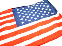 Amerikaanse Vlag Royalty-vrije Stock Afbeeldingen