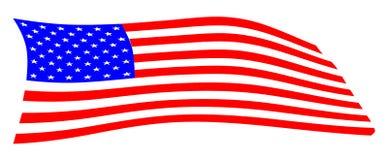 Amerikaanse vlag Stock Afbeelding