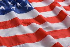 Amerikaanse vlag als achtergrond, close-up stock foto's