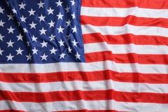 Amerikaanse vlag als achtergrond, hoogste mening royalty-vrije stock foto's
