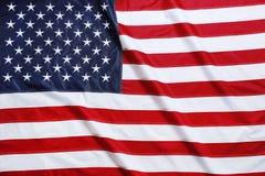 Amerikaanse vlag als achtergrond, hoogste mening royalty-vrije stock fotografie