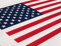 Amerikaanse Vlag van de Verenigde Staten van Amerika Royalty-vrije Stock Afbeeldingen