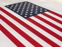 Amerikaanse Vlag van de Verenigde Staten van Amerika Royalty-vrije Stock Fotografie