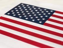 Amerikaanse Vlag van de Verenigde Staten van Amerika Stock Fotografie