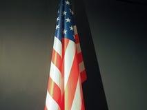 Amerikaanse Vlag van de Verenigde Staten van Amerika Stock Afbeelding