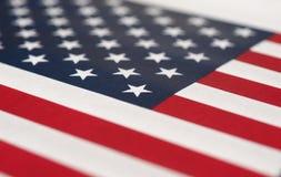 Amerikaanse Vlag van de Verenigde Staten van Amerika Stock Afbeeldingen