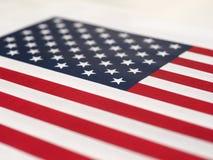 Amerikaanse Vlag van de Verenigde Staten van Amerika Stock Foto's