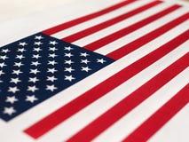 Amerikaanse Vlag van de Verenigde Staten van Amerika Royalty-vrije Stock Afbeelding