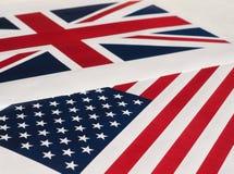 Amerikaanse Vlag van de Verenigde Staten van Amerika Stock Foto