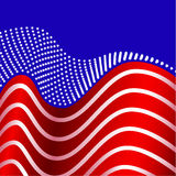 Amerikaanse Vlag Verenigde Staten Stock Foto's