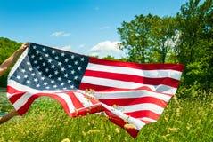 Amerikaanse Vlag Verenigde Staten vieren Onafhankelijkheidsdag royalty-vrije stock afbeeldingen