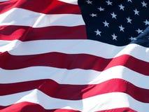 Amerikaanse vlagachtergrond Stock Foto