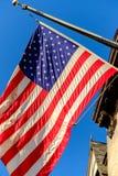 Amerikaanse Vlaghemel royalty-vrije stock foto