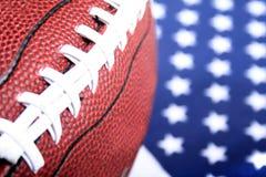 Amerikaanse Voetbal Royalty-vrije Stock Afbeelding