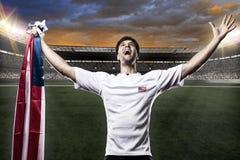 Amerikaanse voetballer Royalty-vrije Stock Foto