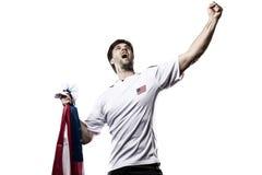 Amerikaanse voetballer Royalty-vrije Stock Foto's