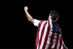 Amerikaanse voetballer Royalty-vrije Stock Afbeelding