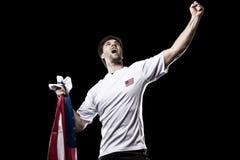 Amerikaanse voetballer Royalty-vrije Stock Fotografie