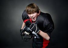 Amerikaanse voetbalster Stock Afbeelding