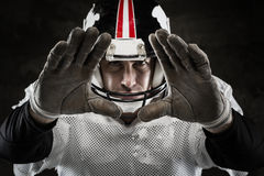 Amerikaanse voetbalster Royalty-vrije Stock Fotografie