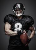 Amerikaanse voetbalster Stock Foto's