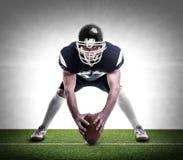 Amerikaanse voetbalster Stock Afbeeldingen