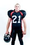 Amerikaanse voetbalster stock foto