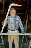 Amerikaanse volkskunstenaar, portret Royalty-vrije Stock Afbeelding