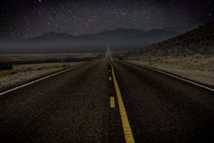 Amerikaanse wegreis Stock Afbeelding
