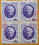 Amerikaanse zegels Royalty-vrije Stock Foto
