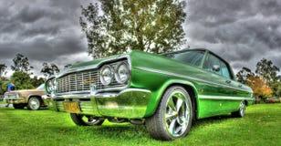 Amerikan Chevy Impala för klassiker 1964 Arkivbilder