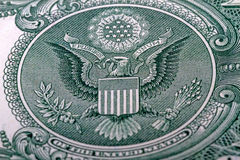 Amerikan Eagle Great Seal arkivbild