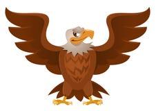 Amerikan Eagle med öppna spridningvingar Royaltyfria Foton