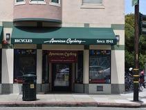Amerikanen Cyclery, den äldsta cykeln shoppar i San Francisco, 1 Royaltyfri Foto