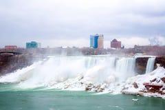 Amerikanen faller Niagara royaltyfri bild