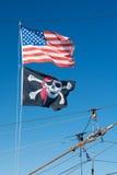 Amerikanen piratkopierar Arkivbilder