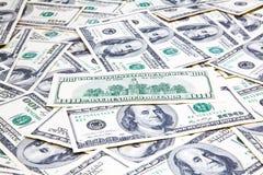 Amerikaner hundert Dollar Banknoten Stockbilder