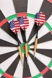 Amerikaner schießt drei Lizenzfreie Stockfotografie