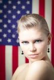 Amerikanerin Stockfotografie